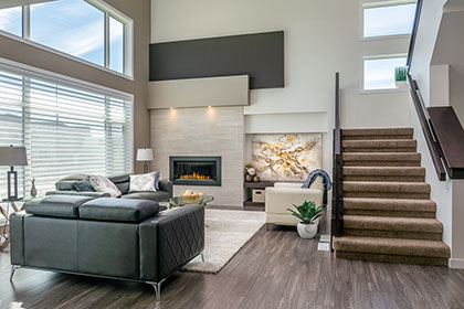 Great Room / Dining - 135 Wildflower Way, Sage Creek | Avanti Custom Homes - Winnipeg - Manitoba
