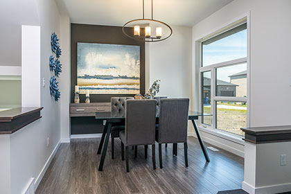 Great Room - 135 Wildflower Way, Sage Creek | Avanti Custom Homes - Winnipeg - Manitoba