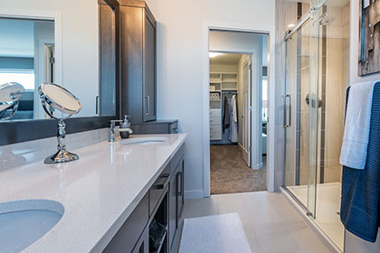 Master Ensuite - 135 Wildflower Way, Sage Creek | Avanti Custom Homes - Winnipeg - Manitoba