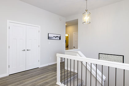 Upstairs Landing- 15 Prairie Grass Lane, Oak Bluff West | Avanti Custom Homes - Winnipeg - Manitoba