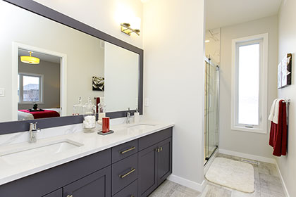 Master Ensuite - 15 Prairie Grass Lane, Oak Bluff West | Avanti Custom Homes - Winnipeg - Manitoba