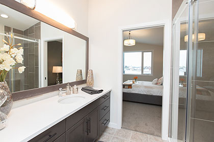 Master Ensuite - 21 Janakas Place, Taylor Farm | Avanti Custom Homes - Winnipeg - Manitoba