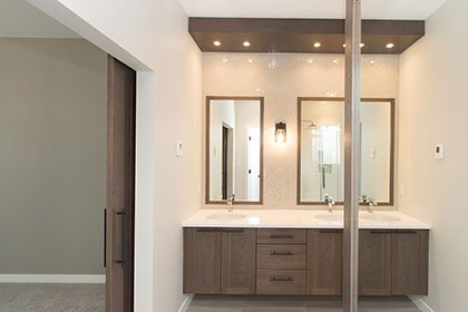 Master Ensuite - 22 Southdown Lane, Taylor Farm | Avanti Custom Homes - Winnipeg - Manitoba