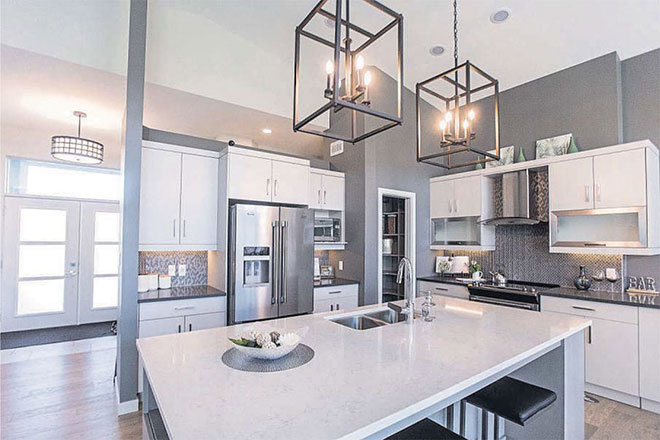 Spacious but warm bungalow will appeal to families, professionals and empty-nesters alike - Custom Home Winnipeg - Avanti Custom Homes